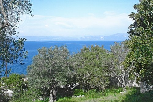 Plot of land  with building permit for Sale -  Paxos Gaios